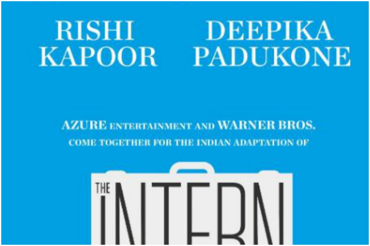 The Intern, Deepika Padukone, Rishi Kapoor