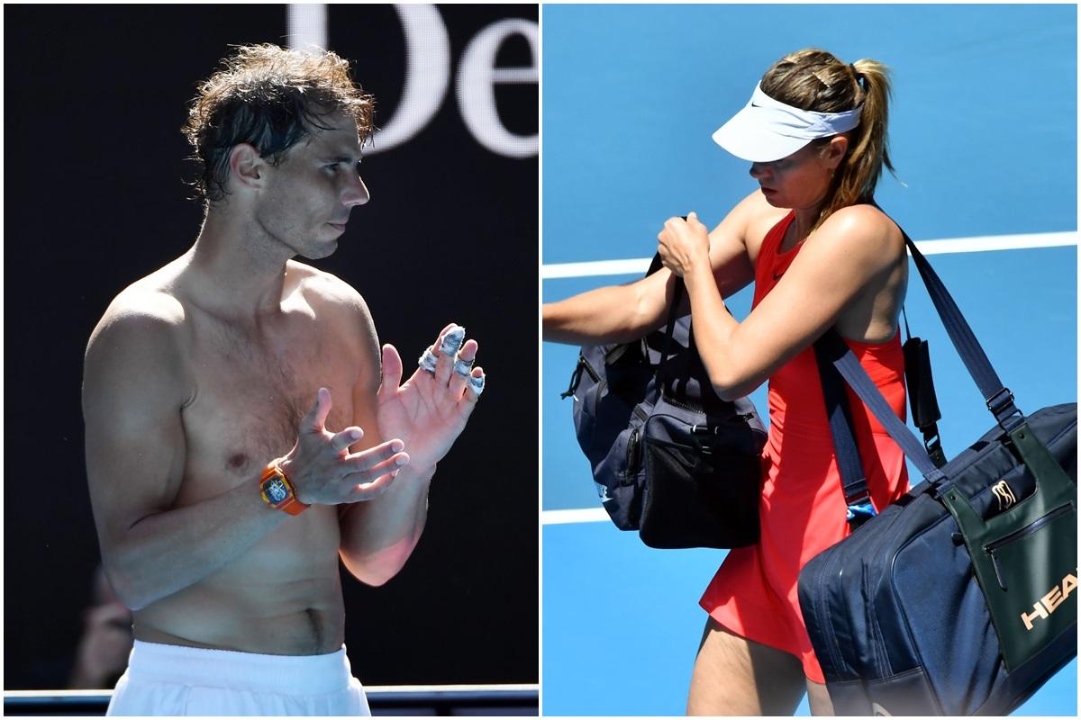Australian Open 2020, Rafael Nadal, Maria Sharapova, Roger Federer