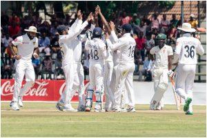 Angleo Matthews' double, Suranga Lakamal's 4-for help Sri Lanka beat Zimbabwe