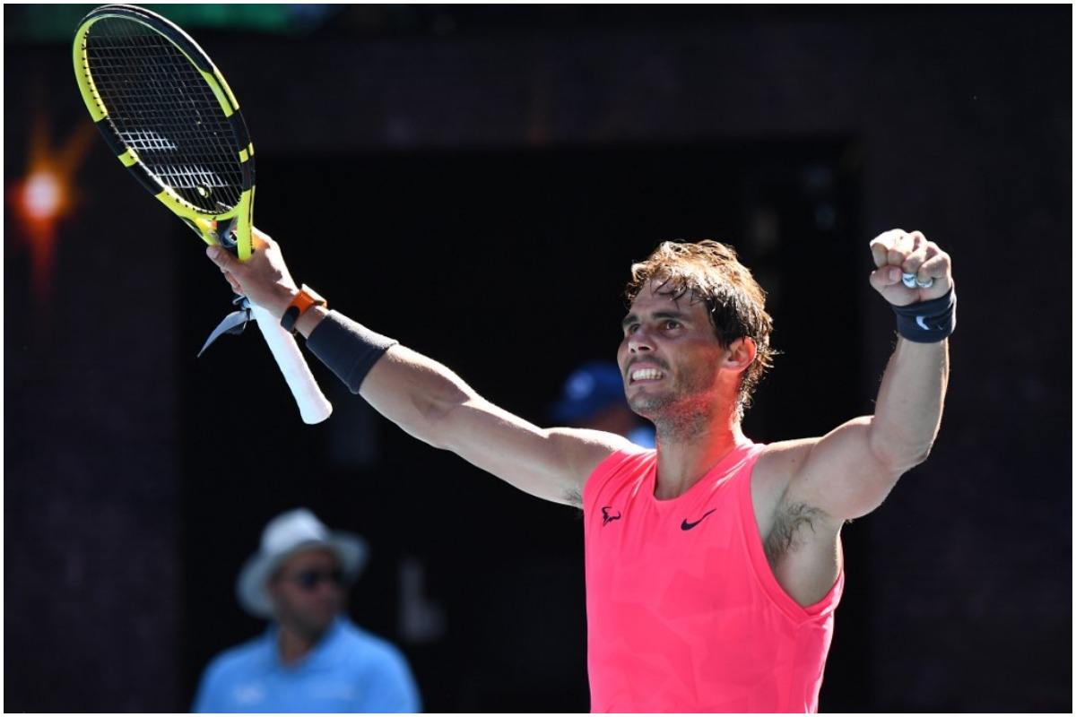French Open Rafael Nadal Serena Williams Kick Off Campaign With Straight Set Wins