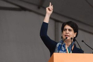 Amit Shah challenging those who aren't fighting against him: Priyanka Gandhi Vadra