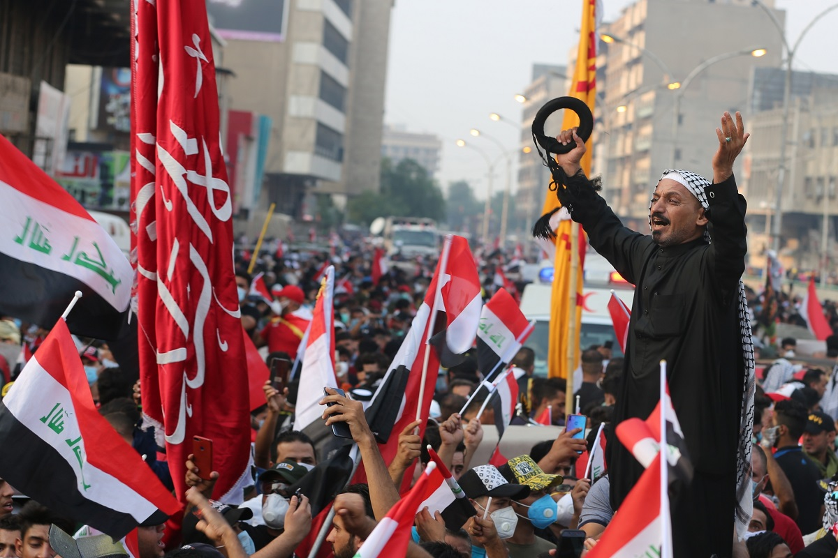 Thousands take to street in Baghdad amid fresh anti-US protests