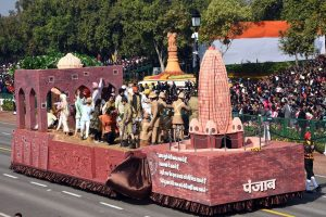 7 non-BJP ruled states to have their tableaux on display in Republic Day parade