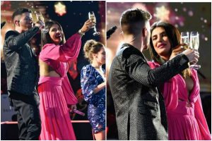 Priyanka Chopra's midnight kiss in backless dress steals the show; check out now