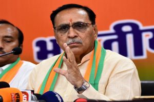 Gujarat CM Vijay Rupani walks away when asked to comment on over 100 infants death in state