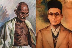 Controversy erupts over booklets by Congress having alleged derogatory remarks pertaining to Savarkar