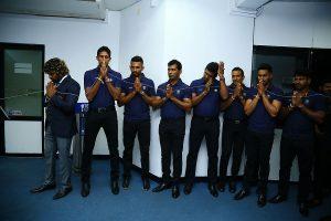 Sri Lanka arrives in Guwahati for T20I series against India