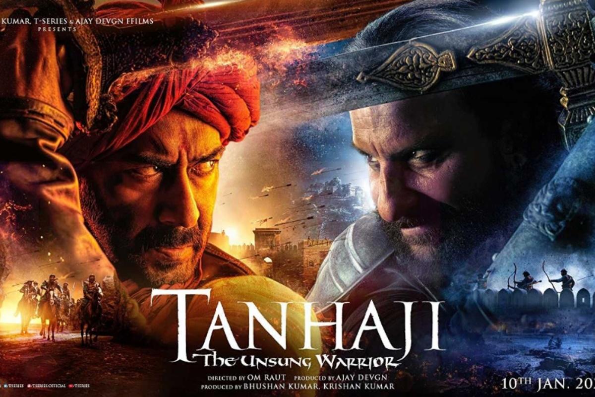 Tanhaji: The Unsung Warrior, Tanhaji movie review, Om Raut, Saif Ali Khan, Ajay Devgn, Kajol,