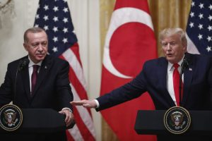 Donald Trump speaks with Turkey President Erdogan on Libya situation over phone