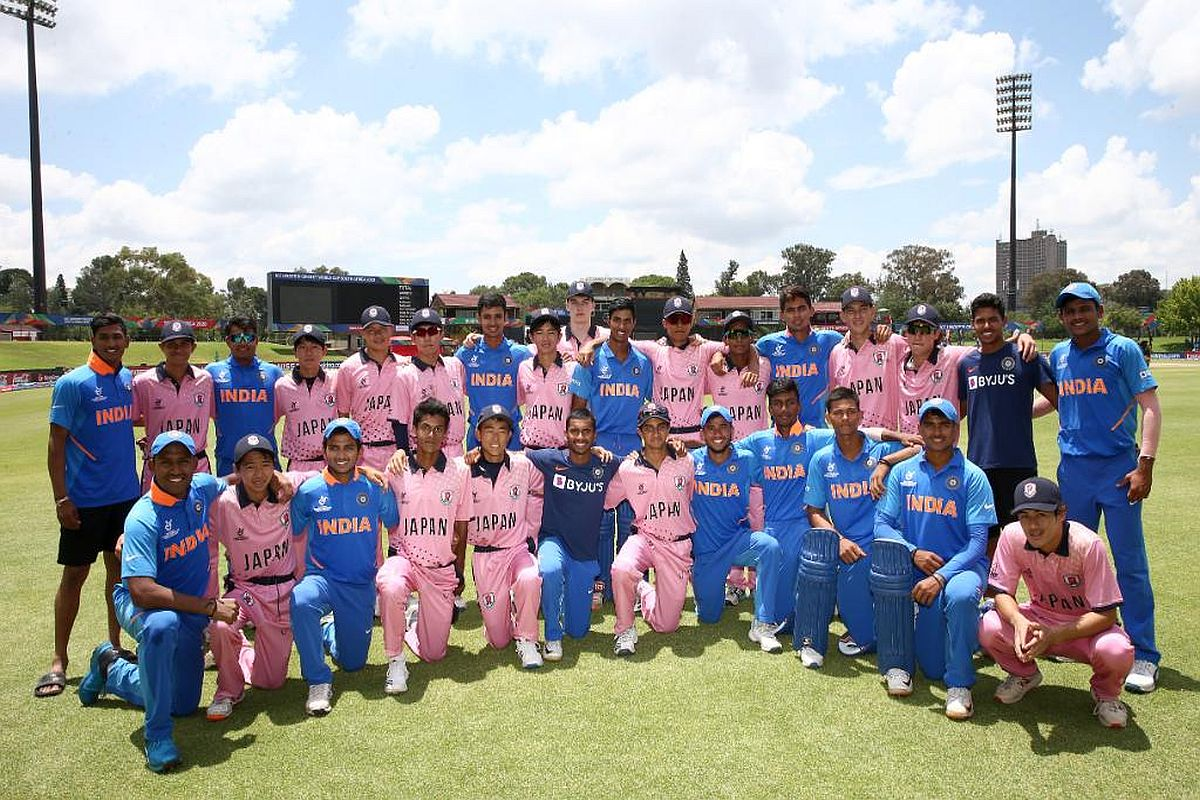 ICC U19 World Cup 2020, Indian U19 Cricket Team, Japan U19 Cricket Team, Priyam Garg, Yashasvi Jaiswal, Ravi Bishnoi,