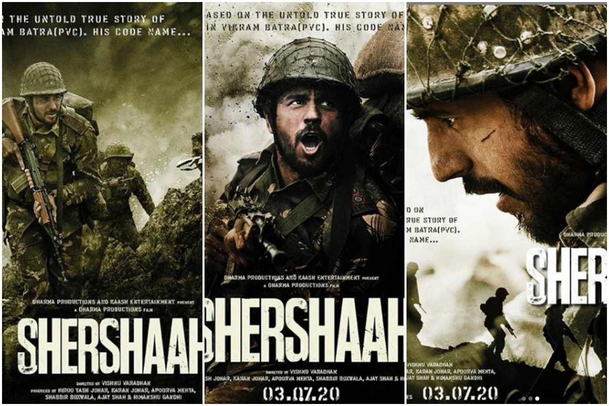 Shershaah: Makers unveil first look posters on Sidharth Malhotra's birthday, pay ode to Captain Vikram Batra
