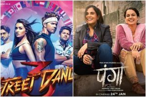 Varun, Shraddha's 'Street Dancer 3D' overtakes 'Panga' starring Kangana on Day 1