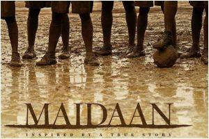 Ajay Devgn starrer Maidaan's teaser poster out