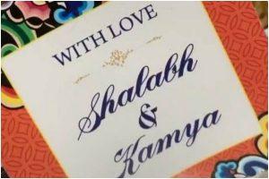 Kamya Panjabi shares glimpse of her wedding card with Shalabh Dang
