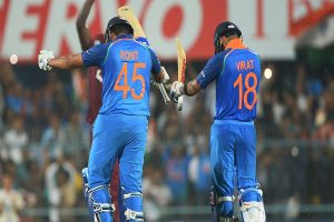 Virat Kohli greatest ODI player of all-time, Rohit Sharma in top-five: Finch