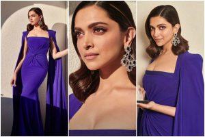 Deepika Padukone in purple gown strikes 100 points