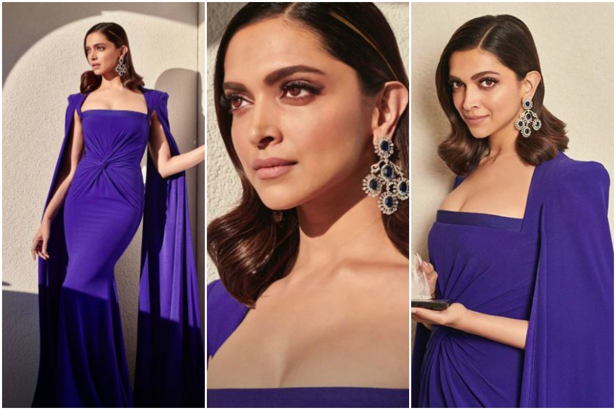 Deepika Padukone in purple gown strikes 100 points