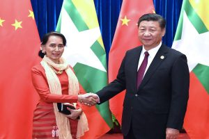 Myanmar, China sign dozens of agreements