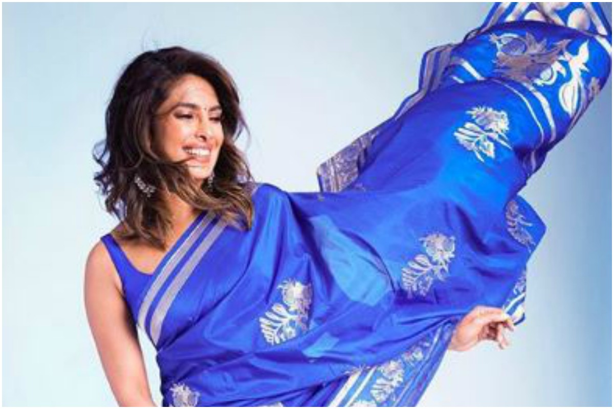 Priyanka Chopra's traditional saree personifies grace and finesse, see pics