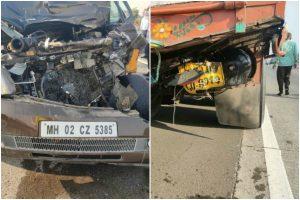 Trucker files FIR against Shabana Azmi's driver for 'rash driving'