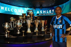 Manchester United defender Ashley Young joins Inter Milan on six-month deal