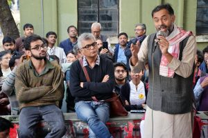 Swaraj India leader Yogendra Yadav lashes out at Centre over CAA, NRC