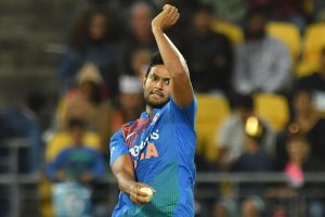 Twitterati trolls Shivam Dube as he bowls second-most expensive over in T20I history