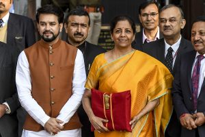 Union Budget 2020-21: Fiscal deficit for FY20 at 3.8%, says FM Sitharaman