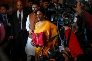 FM Sitharaman tables 'Direct Tax Vivad Se Vishwas' Bill in Lok Sabha