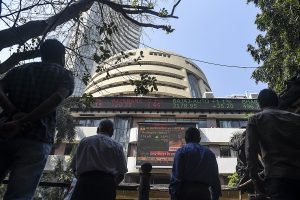 Sensex falls 1,013 points, Nifty at 11,650 as FM budget fails to impress D-st