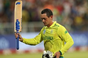 Quinton De Kock wins second South Africa men's cricketer of the year award