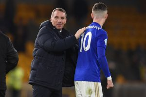 We showed great courage: Brendan Rodgers after 10-man Leicester City hold Wolves to draw
