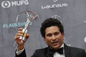 Virat Kohli, Harsha Bhogle wish Sachin Tendulkar for winning Laureus Sporting Moment Award