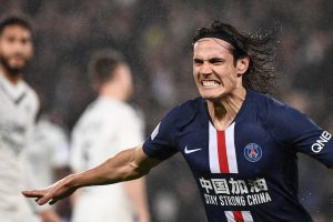 It's a very special evening: PSG forward Edinson Cavani on 200-goal milestone