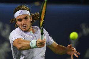 Stefanos Tsitsipas advances to 2nd round of Dubai Championships