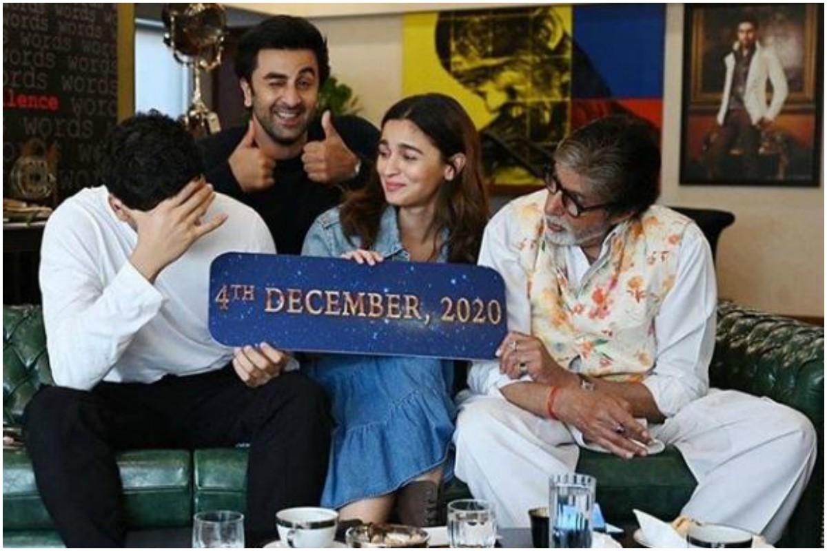 Amitabh Bachchan, Brahmastra, Alia Bhatt, Ranbir Kapoor