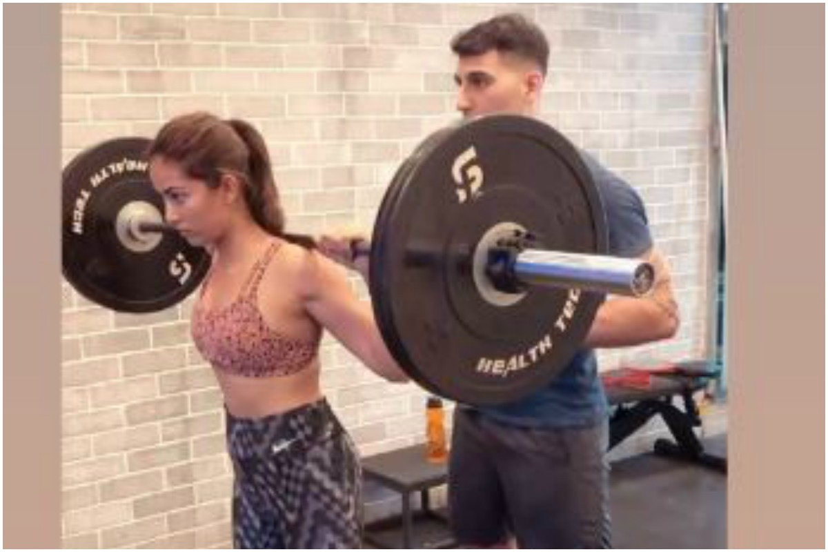Watch | Mira Rajput practicing squat at gym proves she's a fitness freak