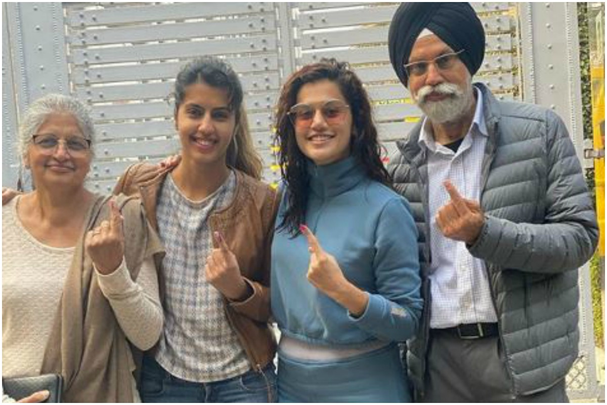 Thappad, Delhi Elections 2020, Taapsee Pannu, Bollywood votes