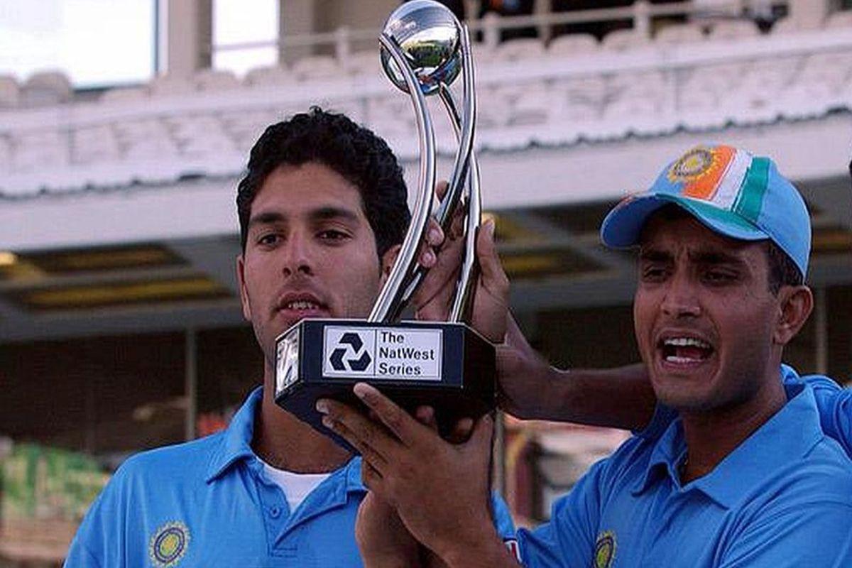 Yuvraj Singh, Sourav Ganguly,