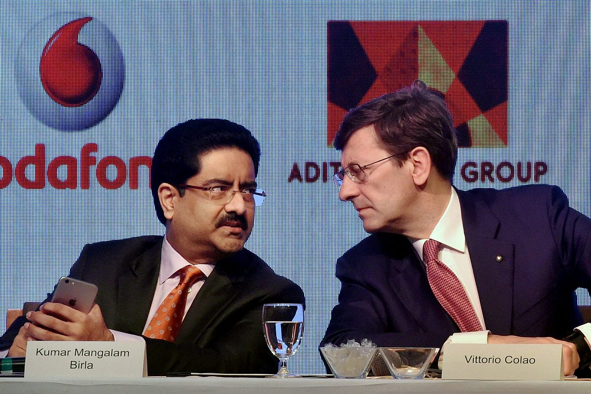 Vodafone Idea's Kumar Mangalam meets Telecom Secretary Anshu Prakash