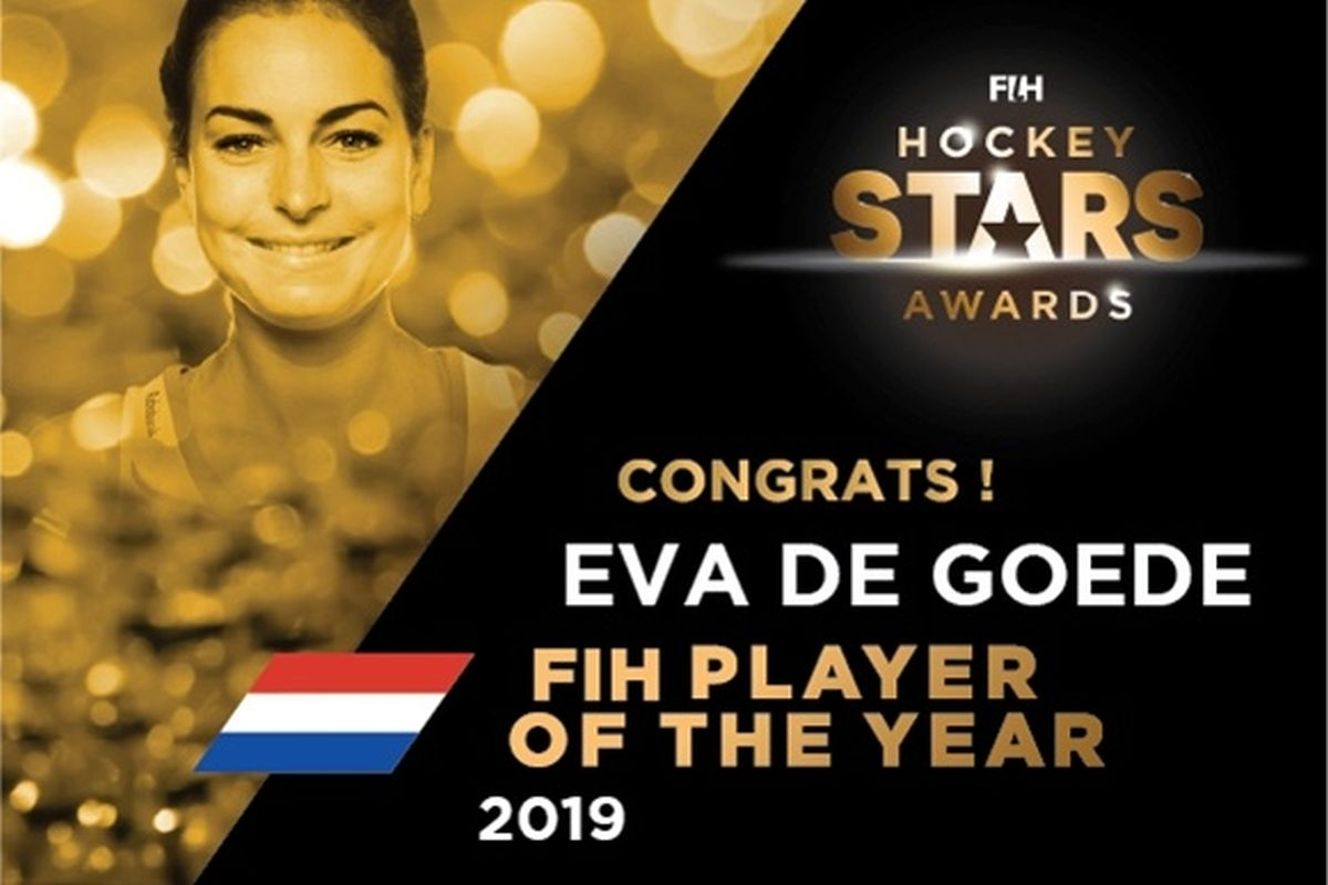 Netherland, Eva de Goede, FIH Player of the Year,