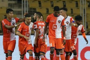ISL: Goa drub Hyderabad 4-1 to confirm playoff berth
