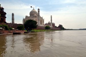 Agra gets makeover ahead of Trump visit; water released into Yamuna, city painted in one colour