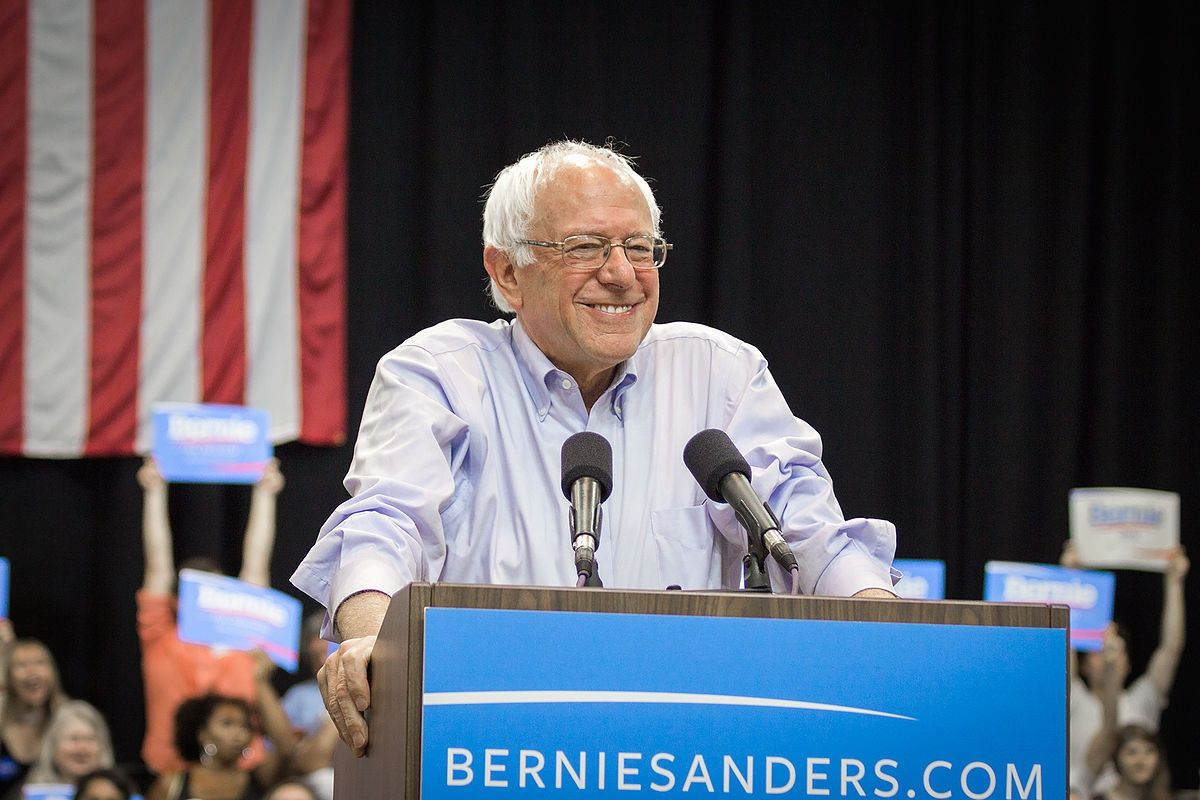 Sanders bows out, Bernie Sanders, Donald Trump, Joe Biden