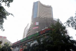 Sensex trades higher, Nifty maintains 12,200 mar during intraday trade