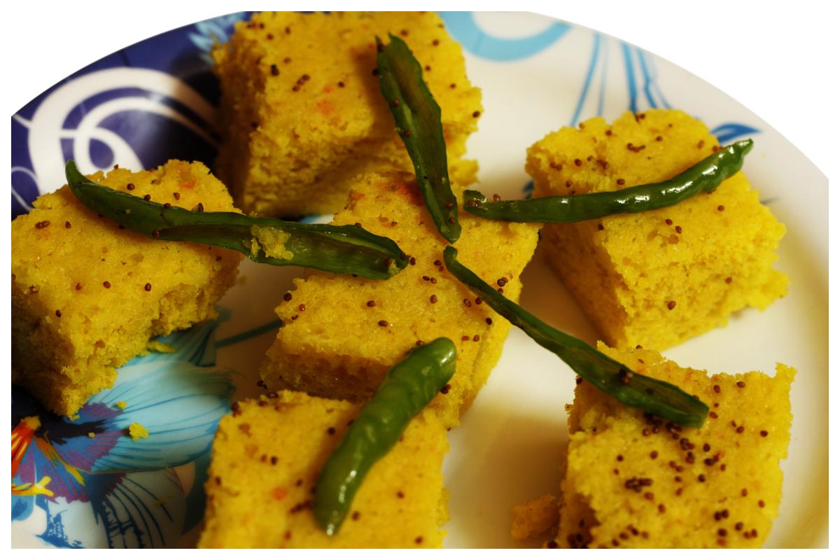 Besan Dhokla, Gujarati food, Dhokla recipe