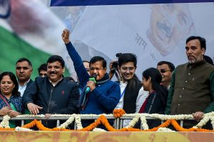 'I love you': Arvind Kejriwal thanks people for believing in him as AAP sweeps Delhi again
