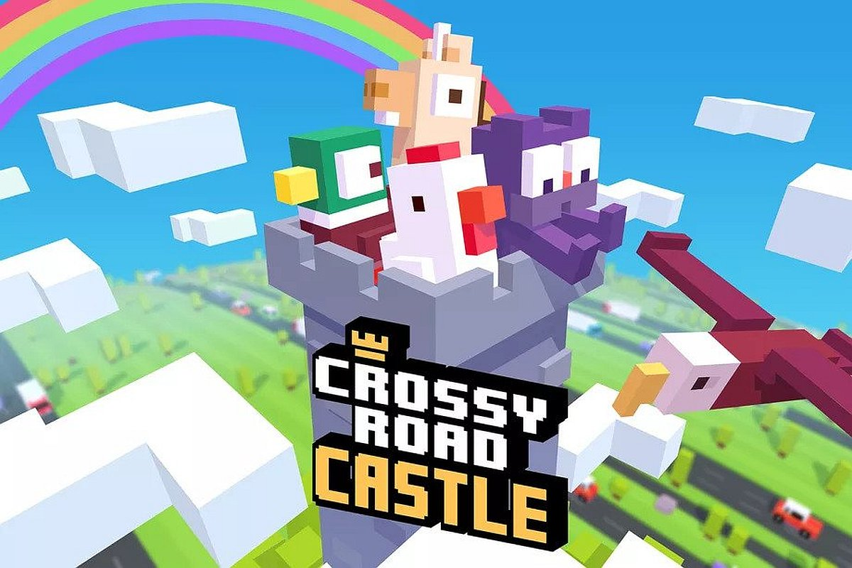 Crossy Road Tower Arrives on Apple Arcade
