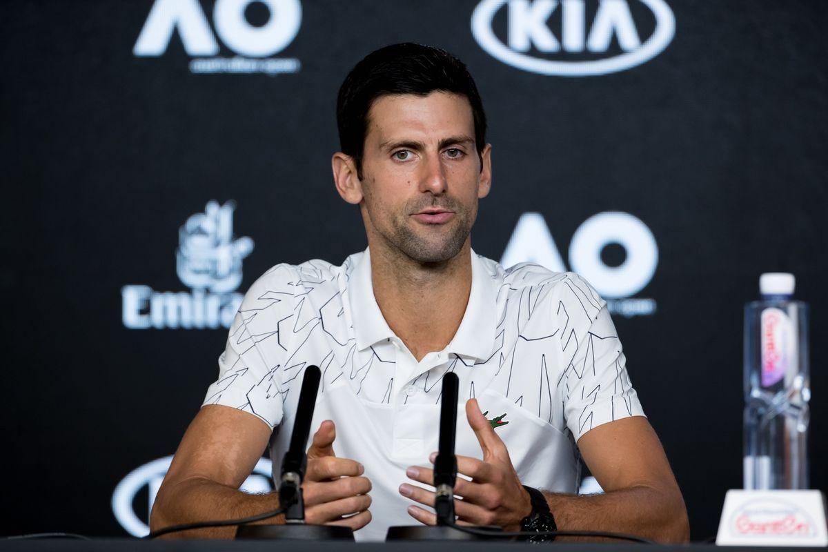 COVID-19, Novak Djokovic,
