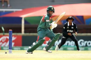 Bangladesh beat New Zealand by 6 wickets to enter maiden U-19 World Cup final